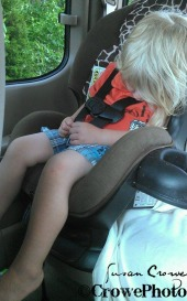 passed out in car