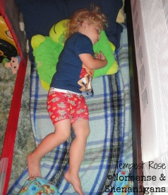 3 year old sleeping