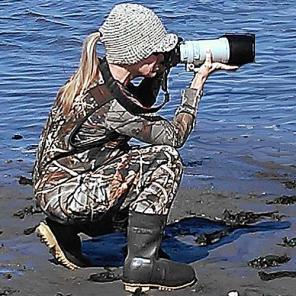 Susan Crowe (CrowePhoto) -- wildlife photographer.