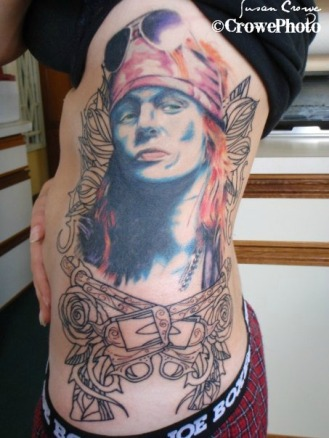 axl rose tattoo