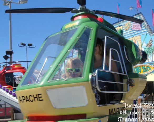 He took his piloting job very seriously.