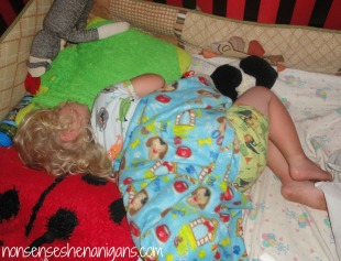 sleeping toddler, toddler bed