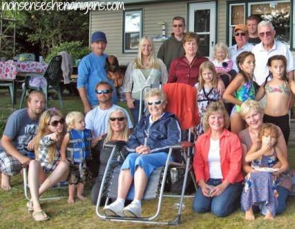 Ogden Kinkle family reunion