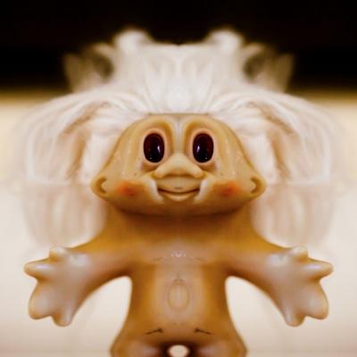 naked troll hug