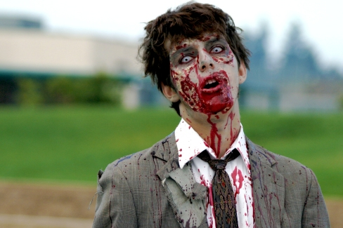 """Zombie!"" by Daniel Hollister on Flickr (CC BY 2.0)"