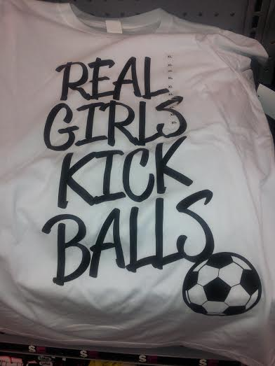 real girls kick balls