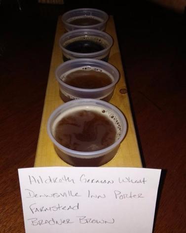 Brewery Beer Tasting